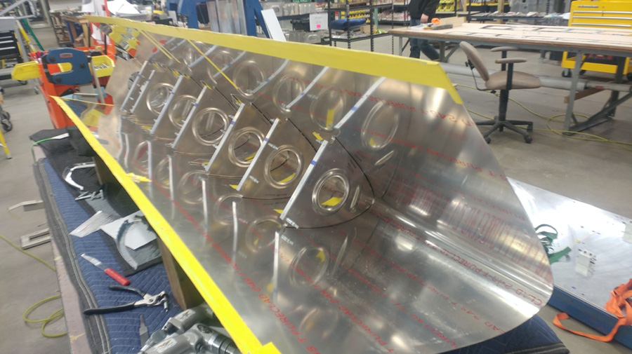 P-47: Wing Assembly