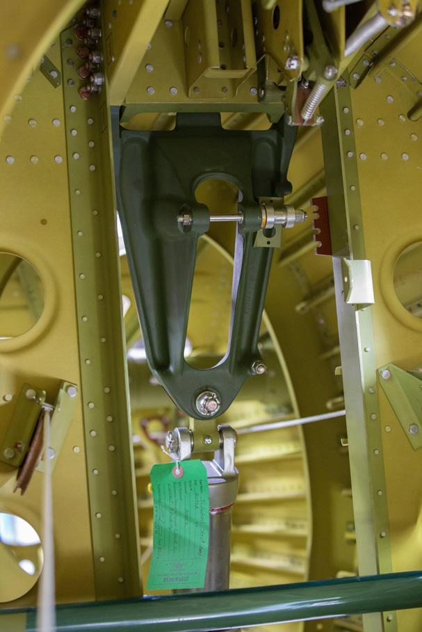 P-47 Razorback: Tail Wheel Installation