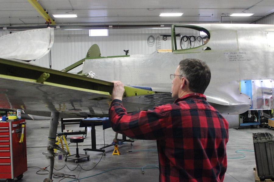 P-51C Thunderbird – General Airframe