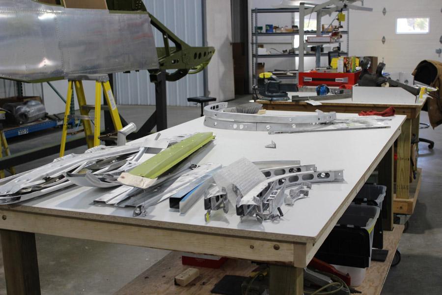P-51C: Restoration Progress