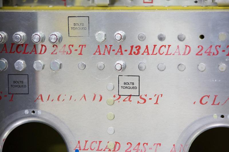P-47: Fuselage Structure Details
