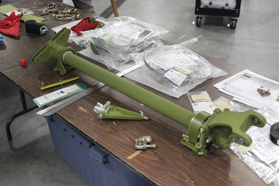 P-51C Thunderbird – Parts