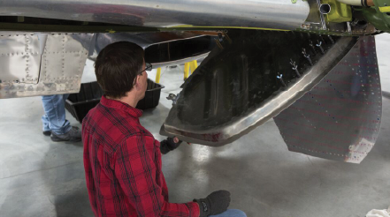 Reassembling Wing – Fuselage