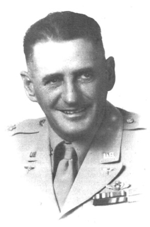 "Paul Irvin""Pappy' Gunn, USAAF service photo"