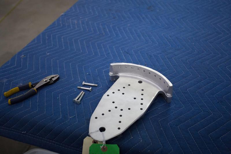P-47: Parts Preparation