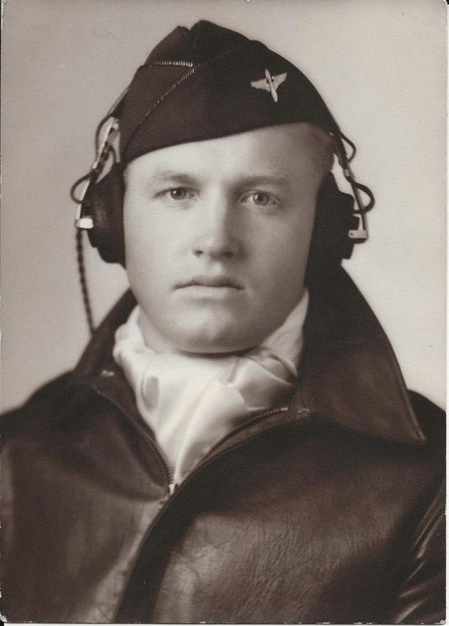 Kermit Bjorlie in 1944