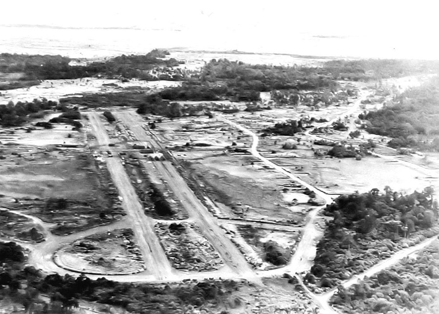 Nadzab Airfield, Papua New Guinea, 1944, USAAF photo