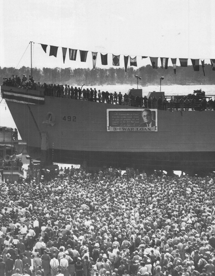 LST launch