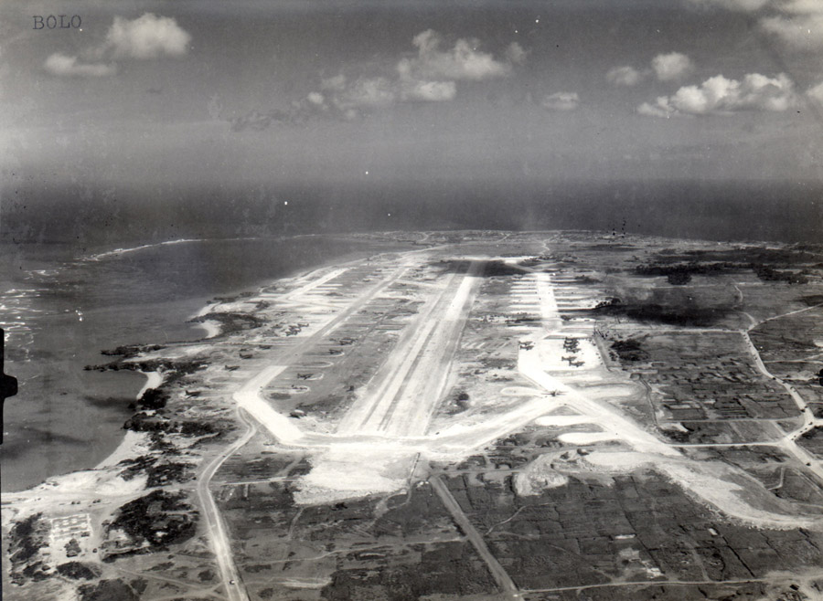 Bolo Army Airfield, Okinawa, photo US Navy and Marine Corps Museum