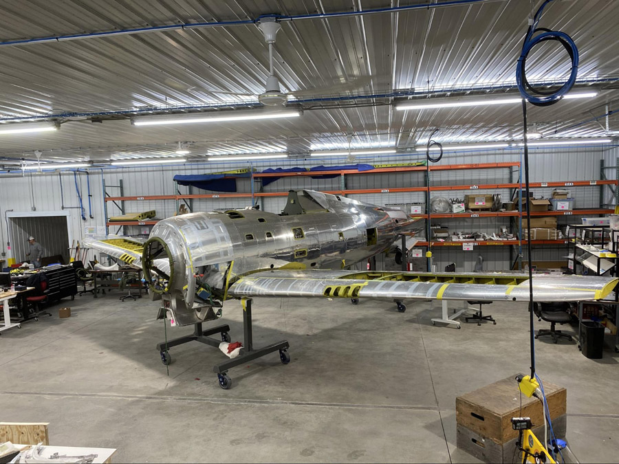 P-47 Thunderbolt: Wing to Fuselage Attachment - AirCorps Aviation