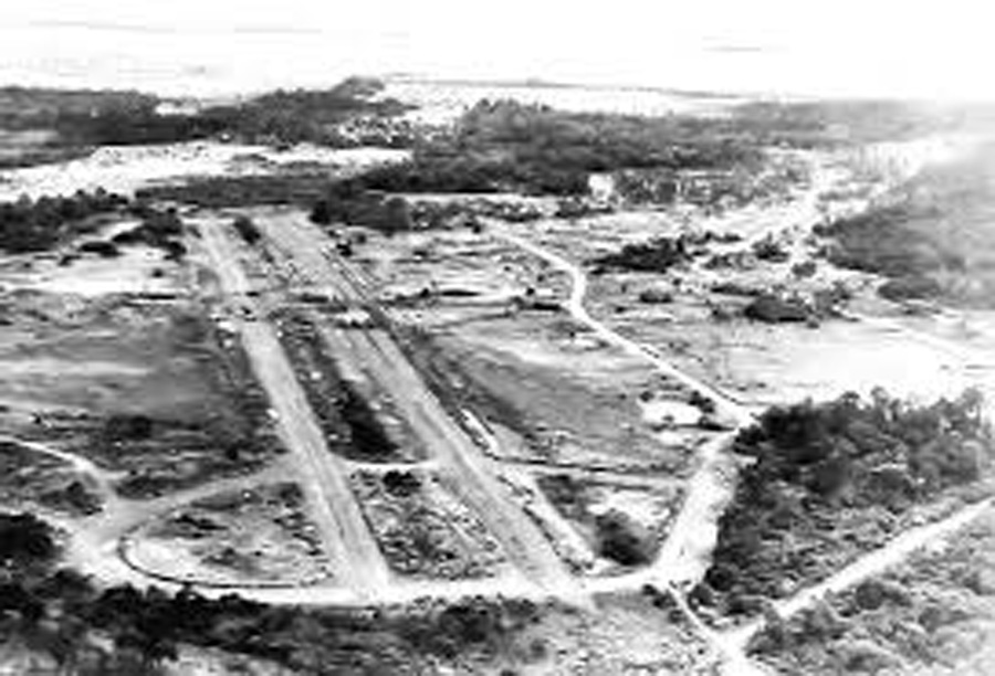 Nadzab Airfield, USAAF photo