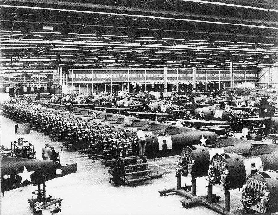 Republic Aviation Factory, Evansville, Indiana