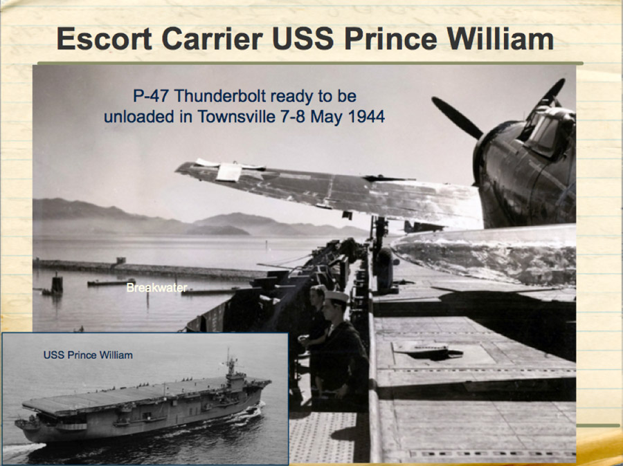 Escort Carrier USS Prince William
