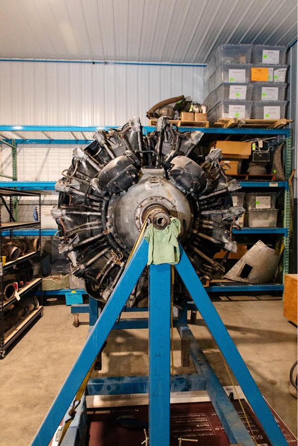 P-47: Mock Up Engine