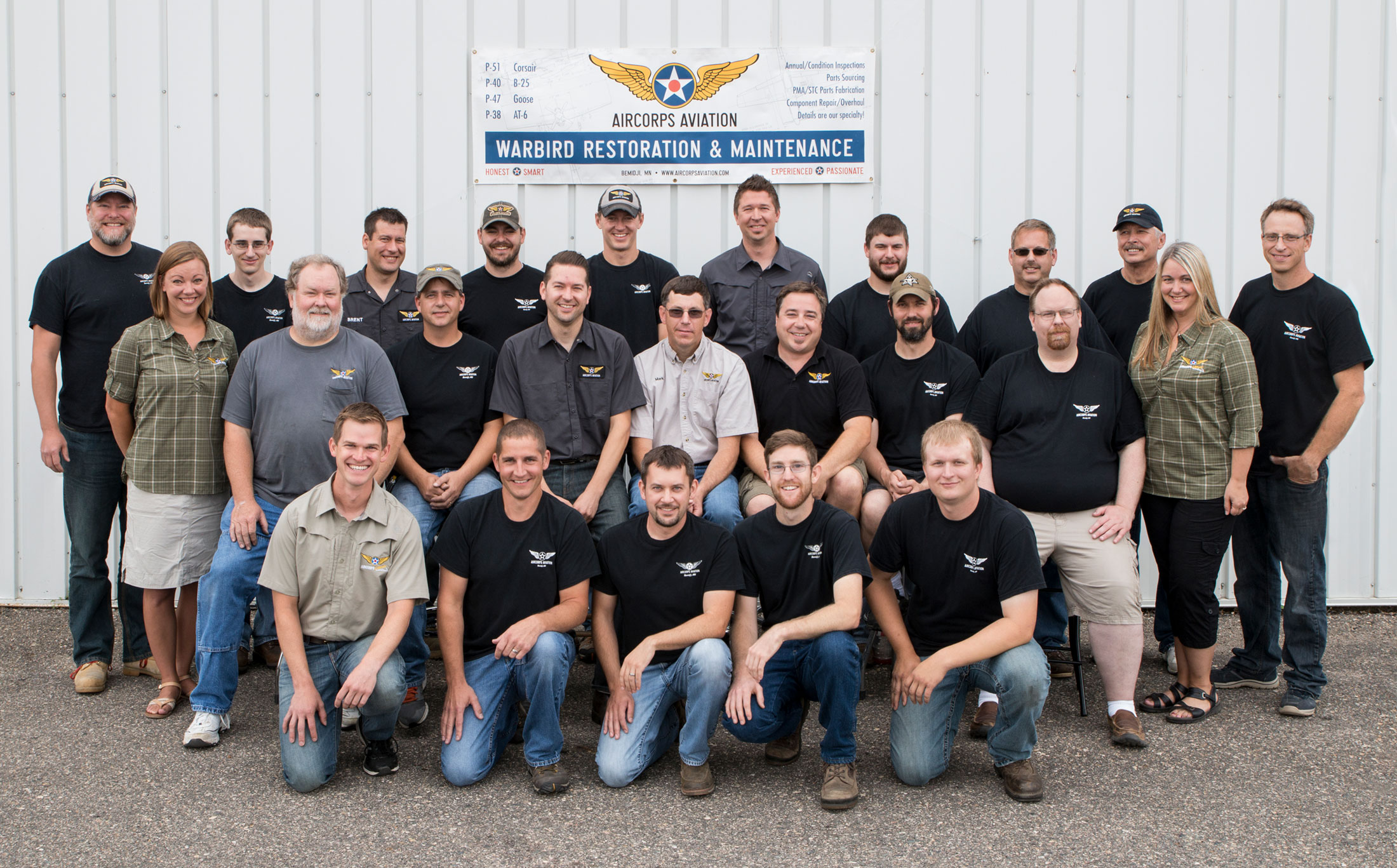 AirCorps Aviation Team 2016