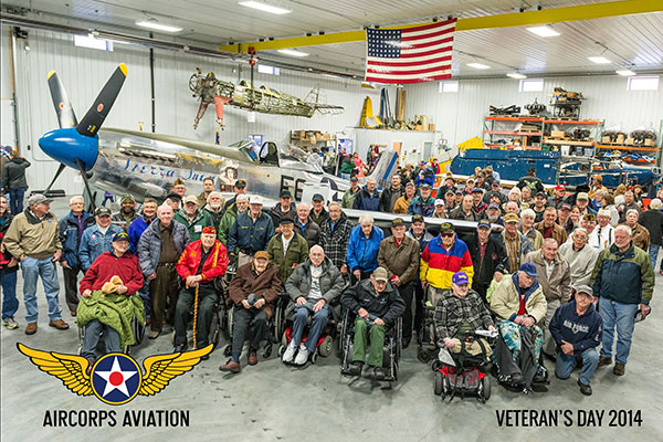 AirCorps Veterans Day Group