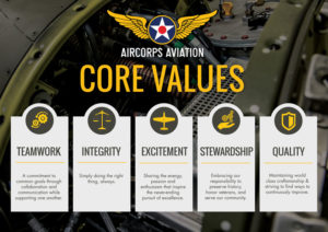 AirCorps Core Values