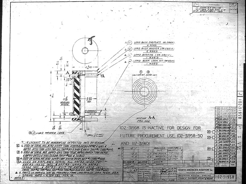 Engine Mount Bushing FAA-PMA P-51 Mustang | AirCorps Aviation on p-38 schematic, p-51d schematic, f-4 schematic, p-51b schematic, aircraft schematic, b-36 schematic, b-17 schematic, kc-135 schematic, b-25 schematic, f-16 schematic, p-11 schematic, dc-3 schematic,