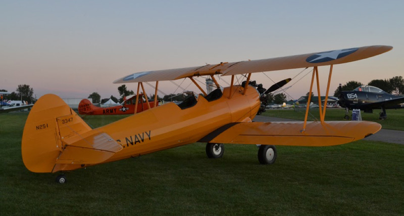 The Bush Stearman
