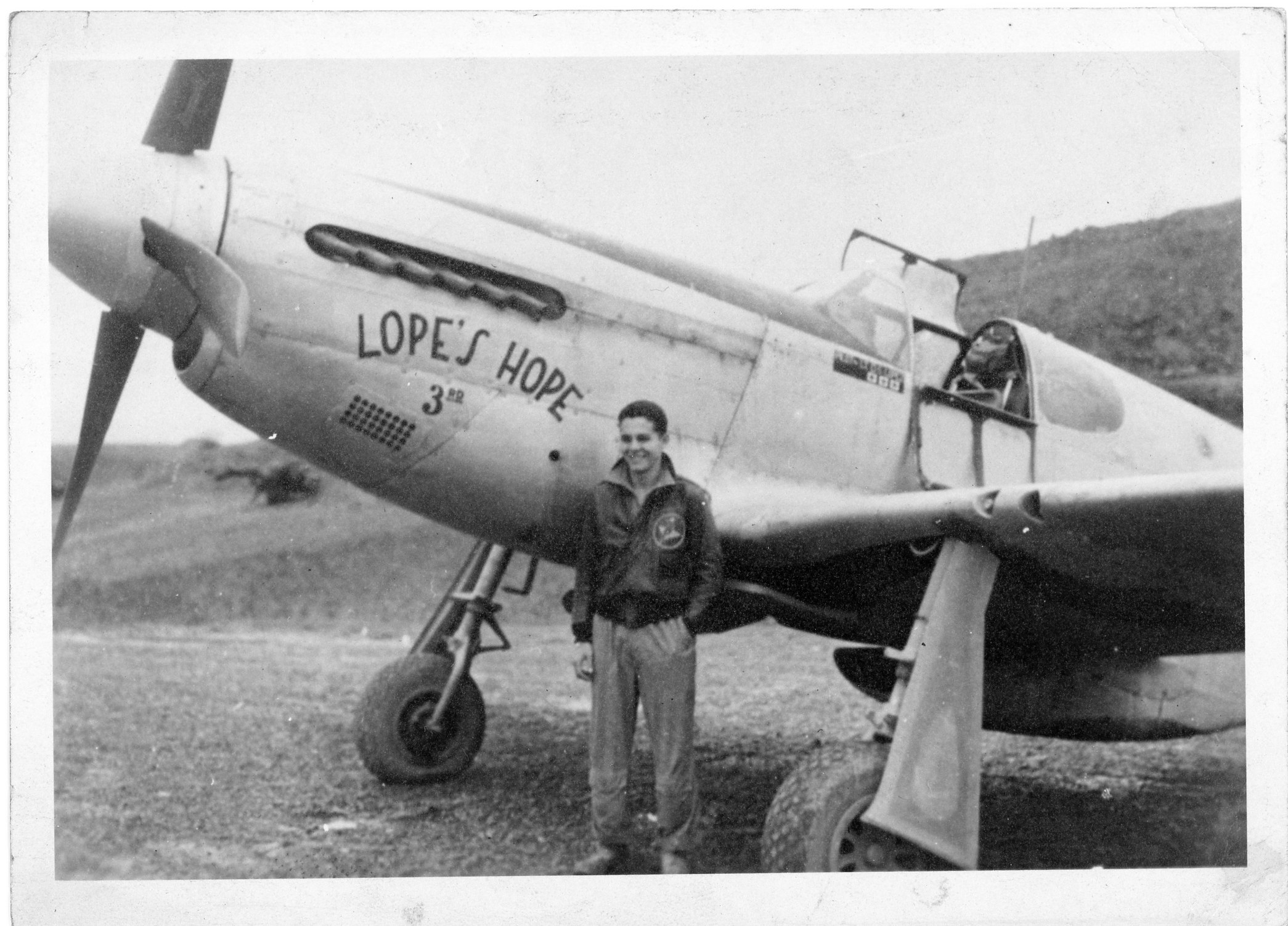 Lope's Hope Mustang from laura
