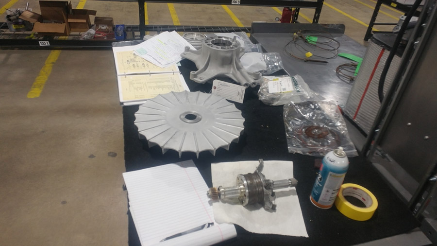 P-47: Turbo Supercharger