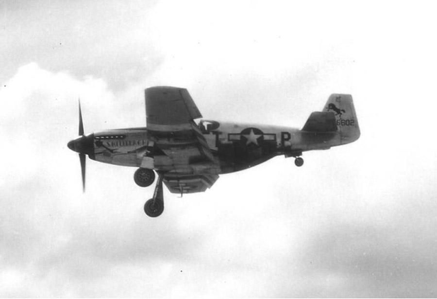 P-51B-10NA 42-106602 Shillelagh