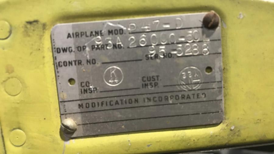 P-47: Control Surfaces