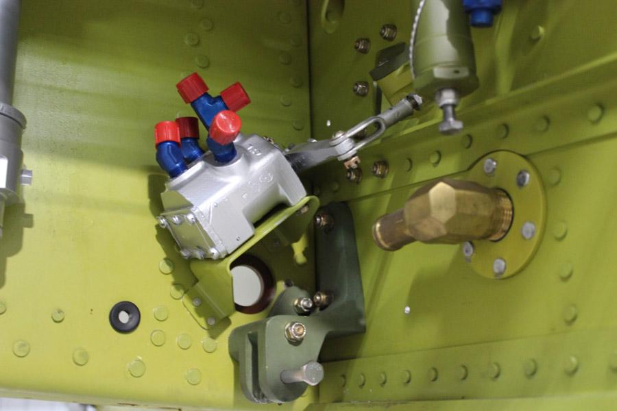 P-51C: Landing Gear and Wheel Wells