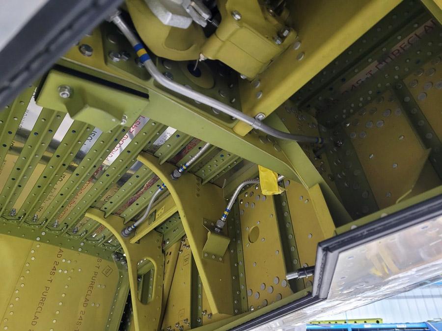 P-47: Wheel Wells