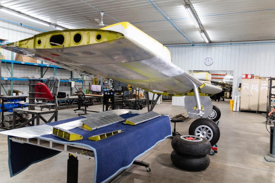 P-51C: Wings