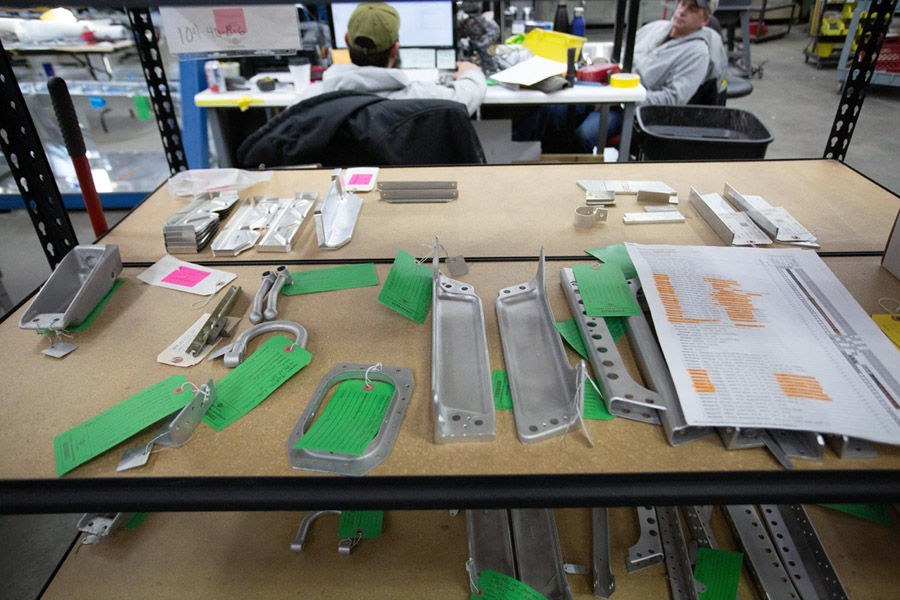 P-47: Wing Parts