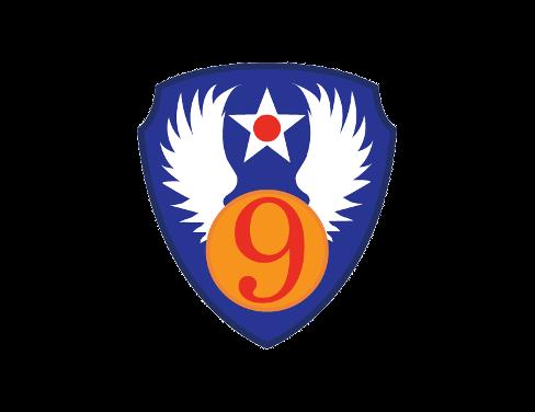 9th Air Force Emblem