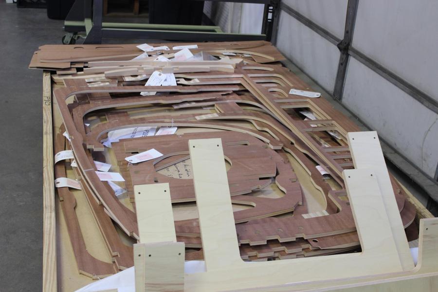 AT-10 Wichita: Materials