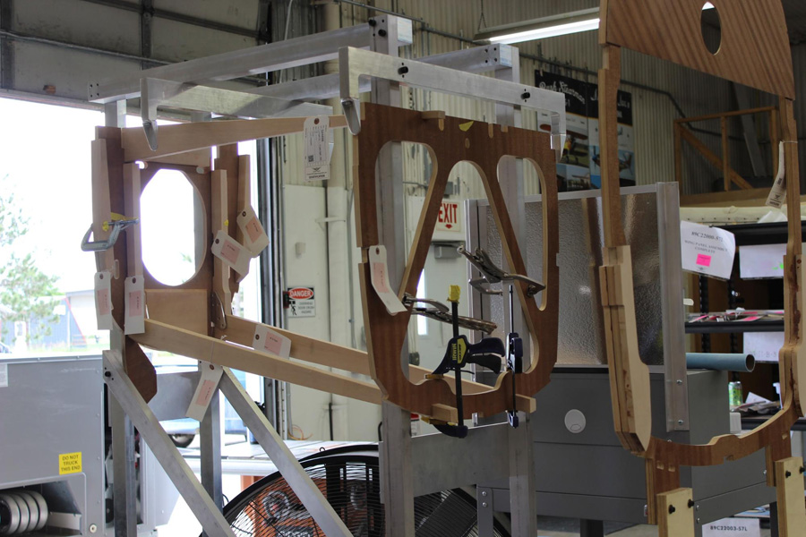 AT-10 Wichita: Fuselage Frame Structure