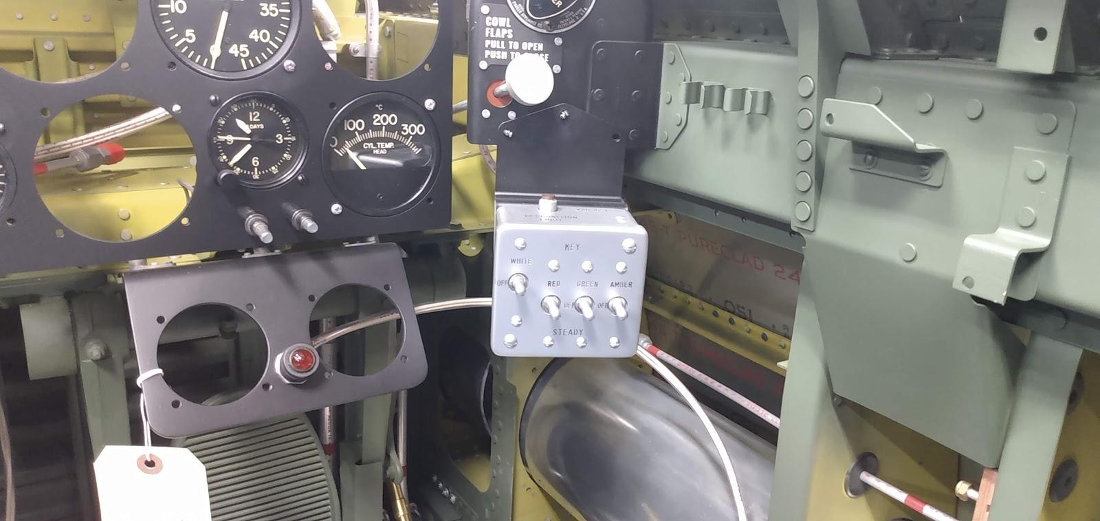 P-47: Recognition Light Control Box