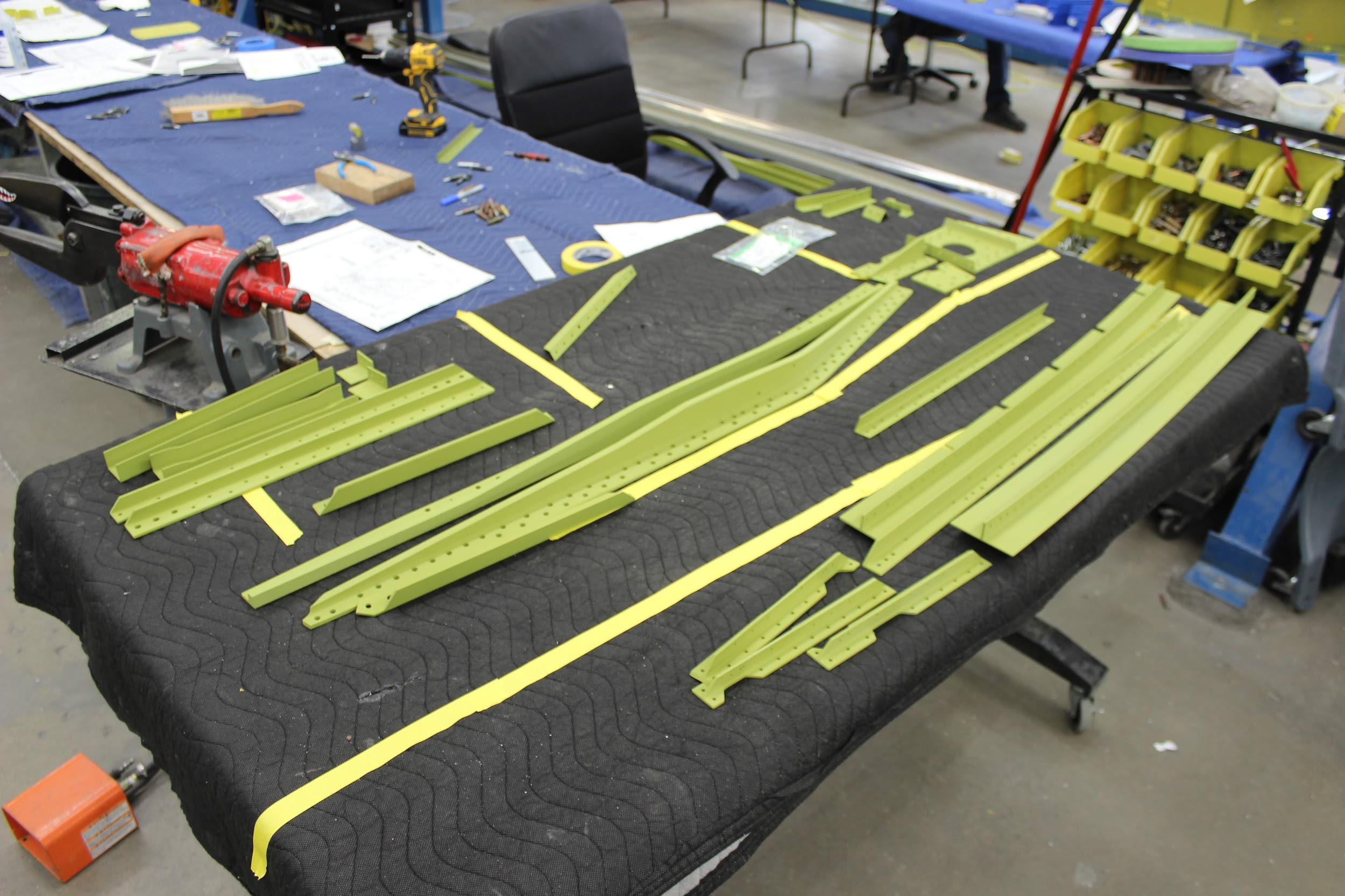 P-47: Wing Structure