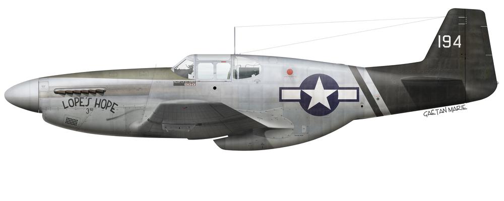 1/72 P-51C/D/K Mustang 75th FS 23rd FG 14th AF (USAAF ...  1/72 P-51C/D/K ...