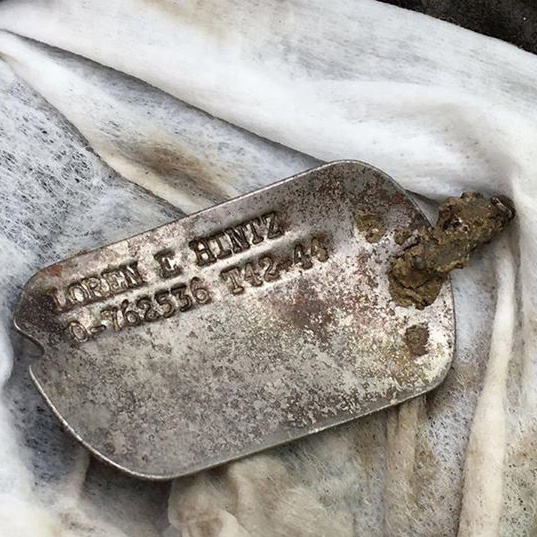 loren hintz dog tag