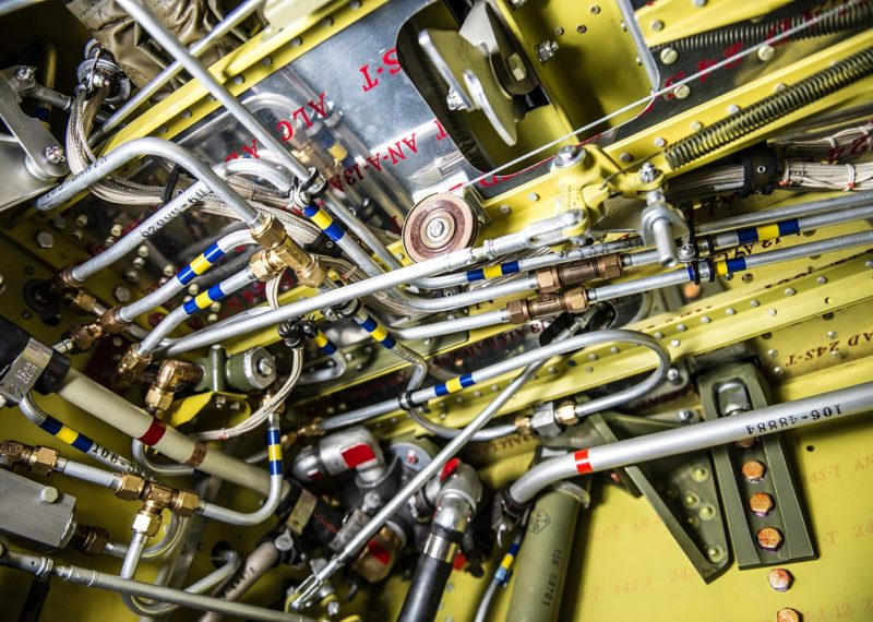 p51 gear well