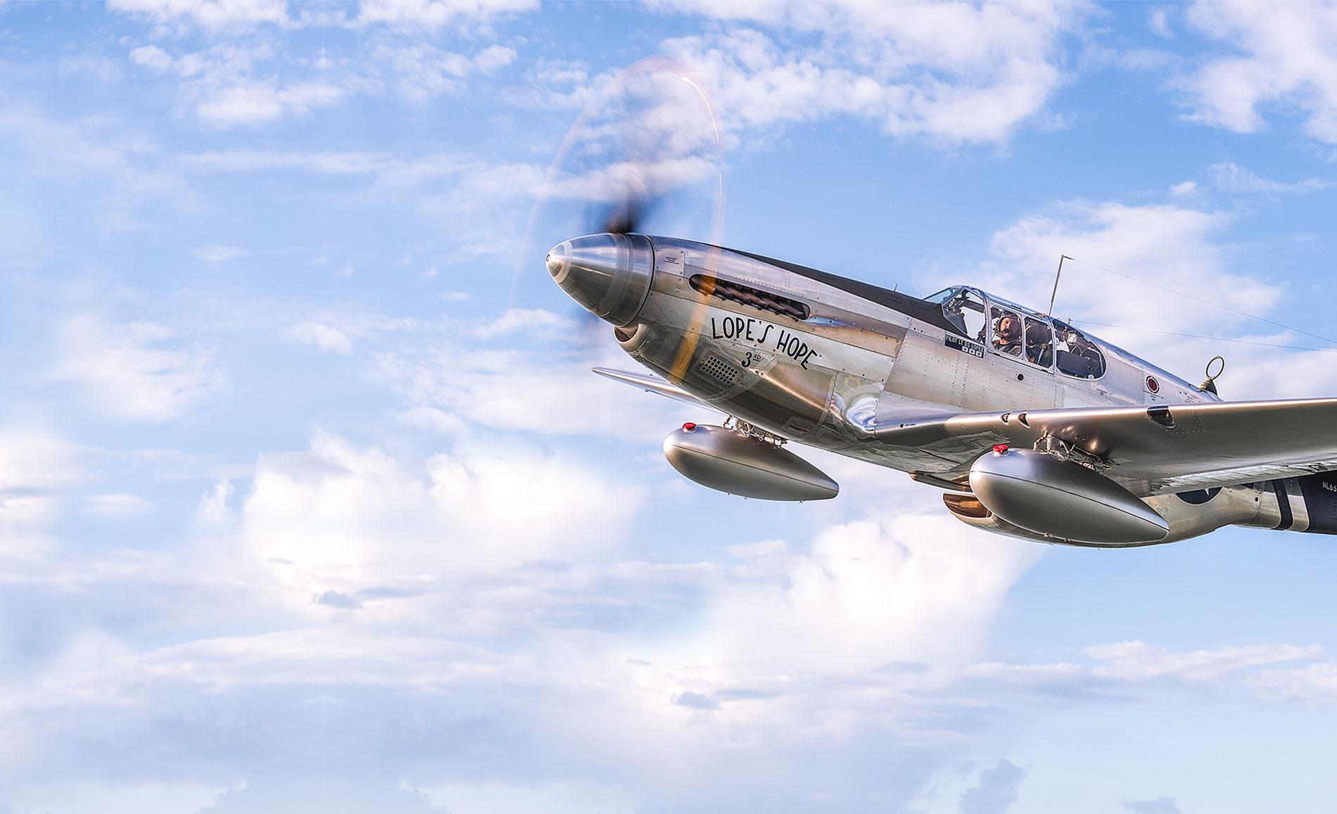 Restored P-51