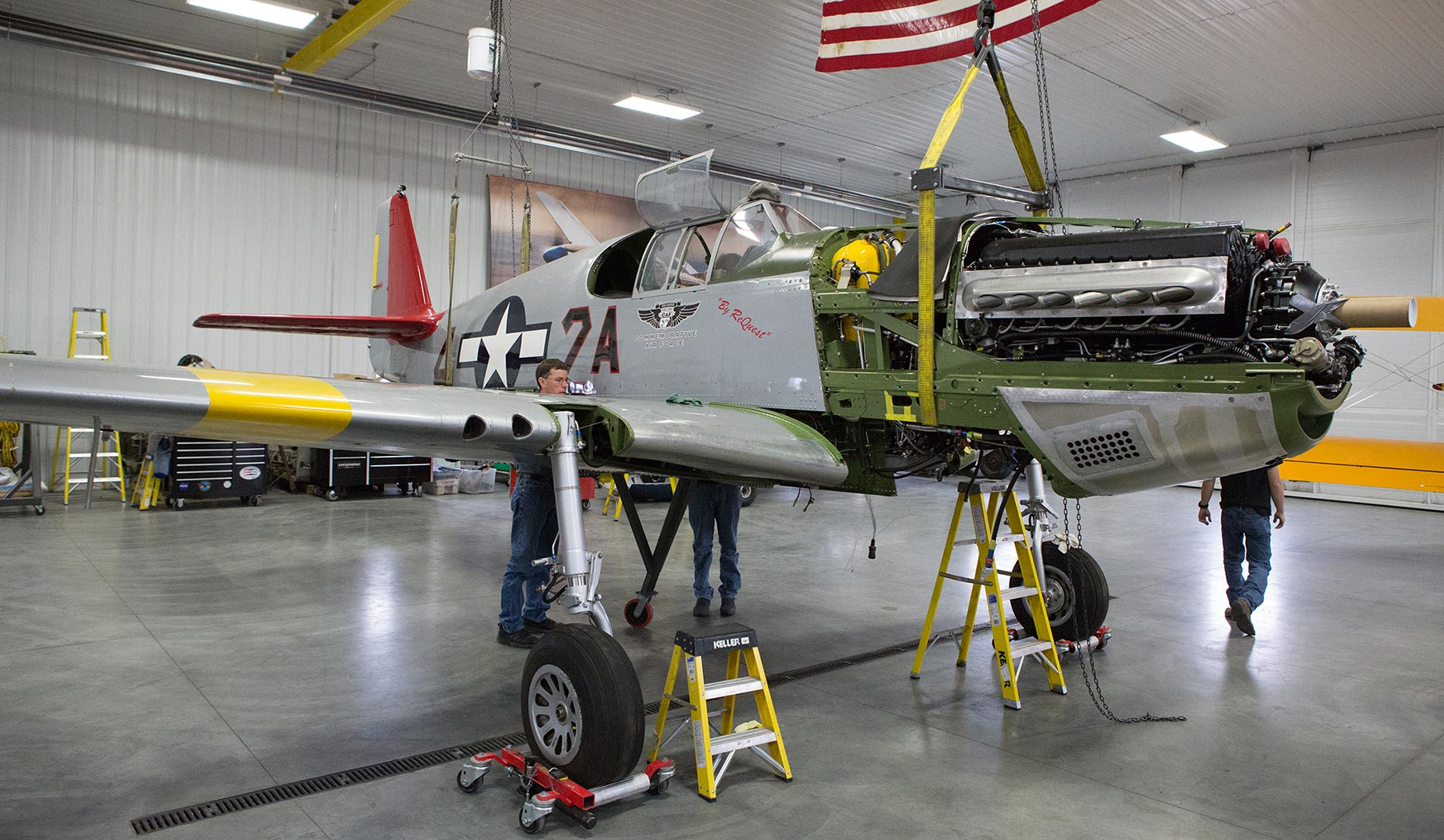 red tail assembly