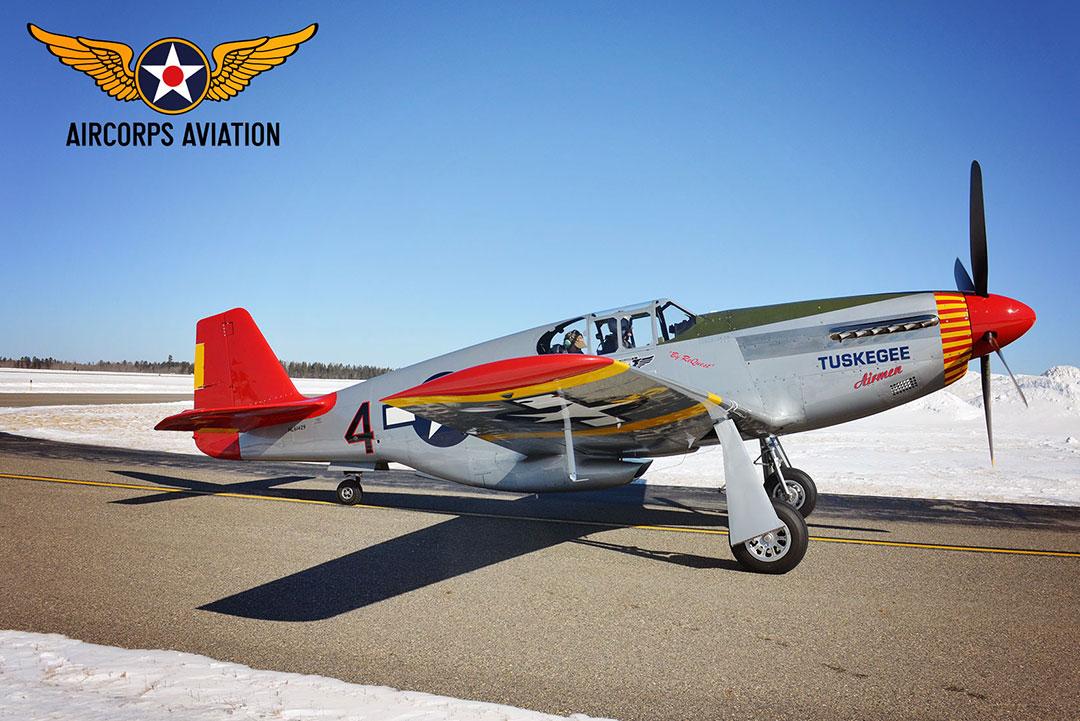 redtail p51 restoration