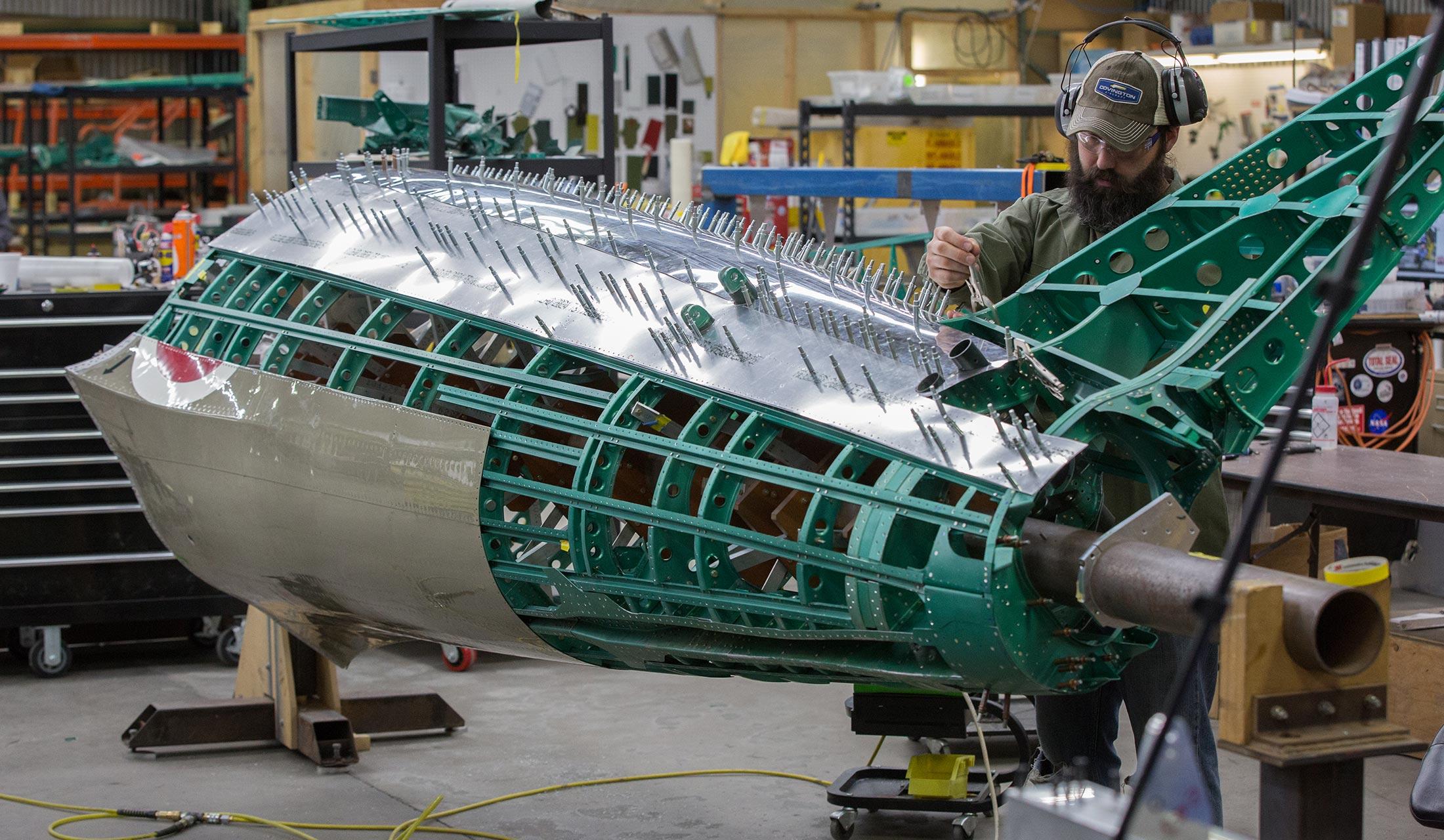 restoration fuselage